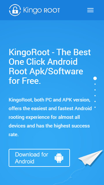 Rootear Android con KingoRoot apk, sin conectar a PC